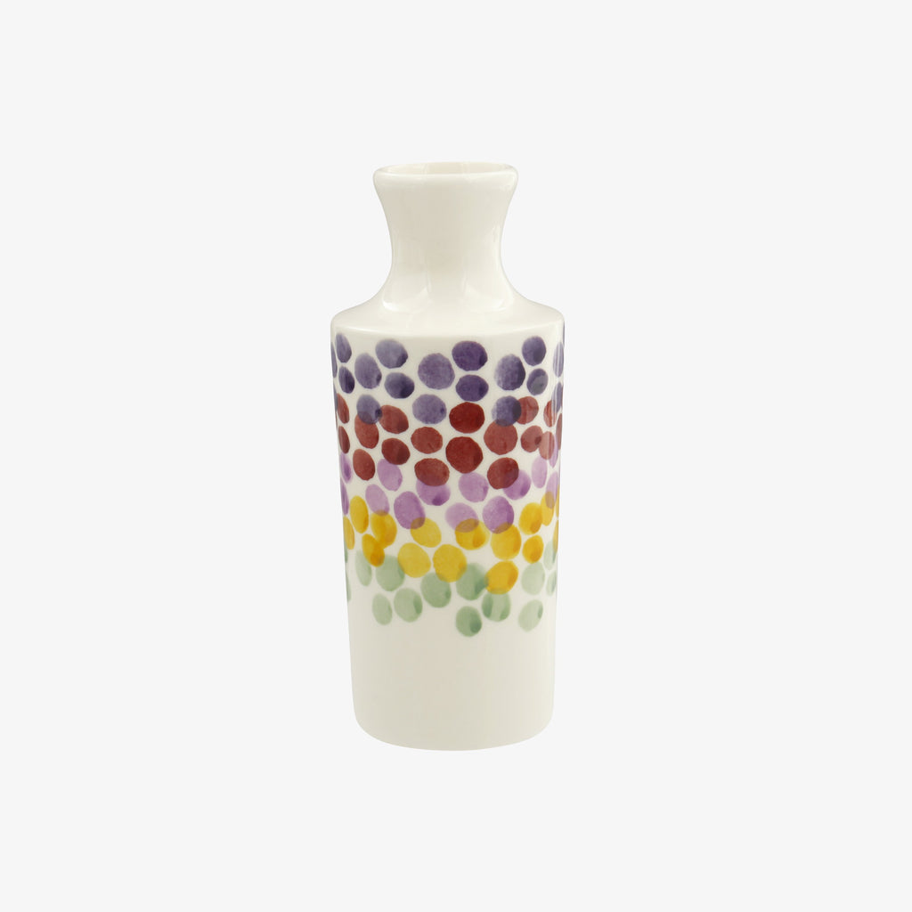 Seconds Rainbow Dots Ink Vase
