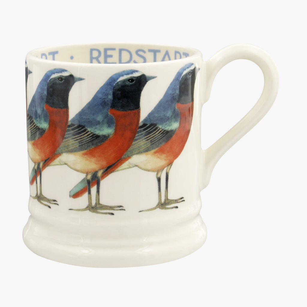 Birds Redstart 1/2 Pint Mug