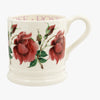Flowers Red Rose 1/2 Pint Mug