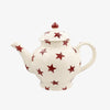 Seconds Red Star 4 Mug Teapot
