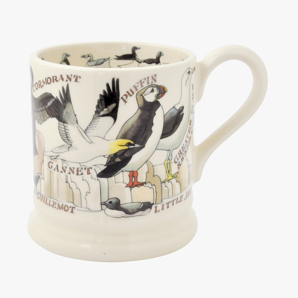 Seconds Sea Birds 1/2 Pint Mug