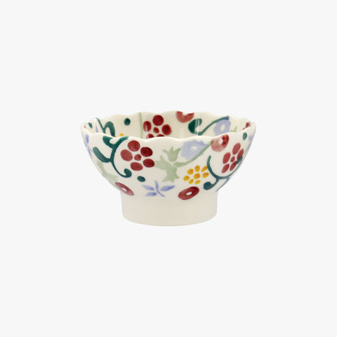 Spring Floral Set of 2 Fluted Bowls Boxed