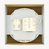 Silver Toast Christening Children's Breakfast Set Boxed