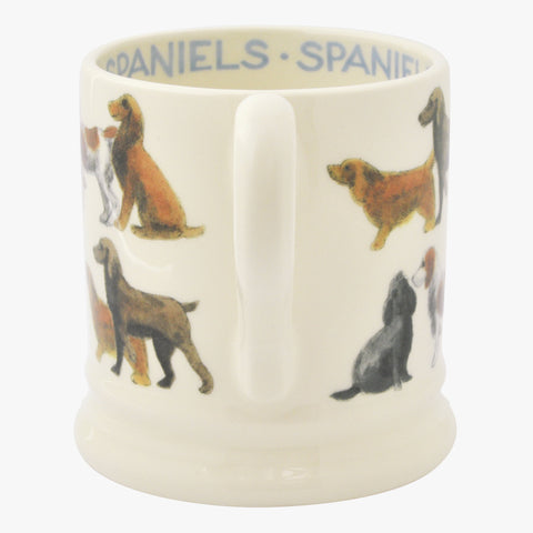 All Over Spaniel 1/2 Pint Mug