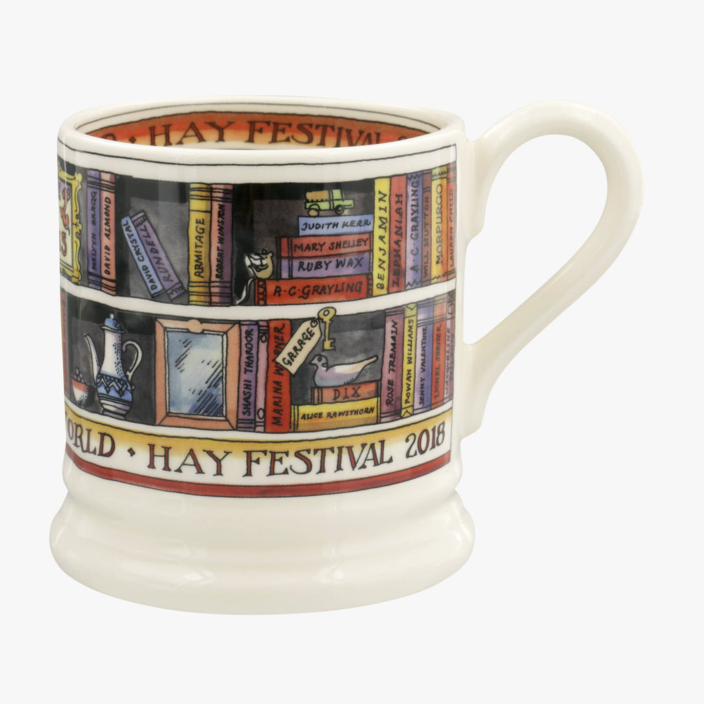 Seconds Hay Festival 2018 1/2 Pint Mug