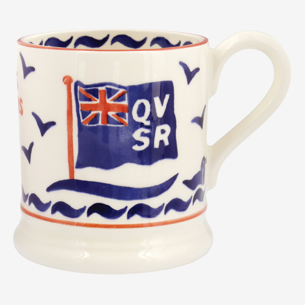 Seconds QVRS 175th Anniversary 1/2 Pint Mug