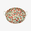 Strawberries Large Handled Tin Tray