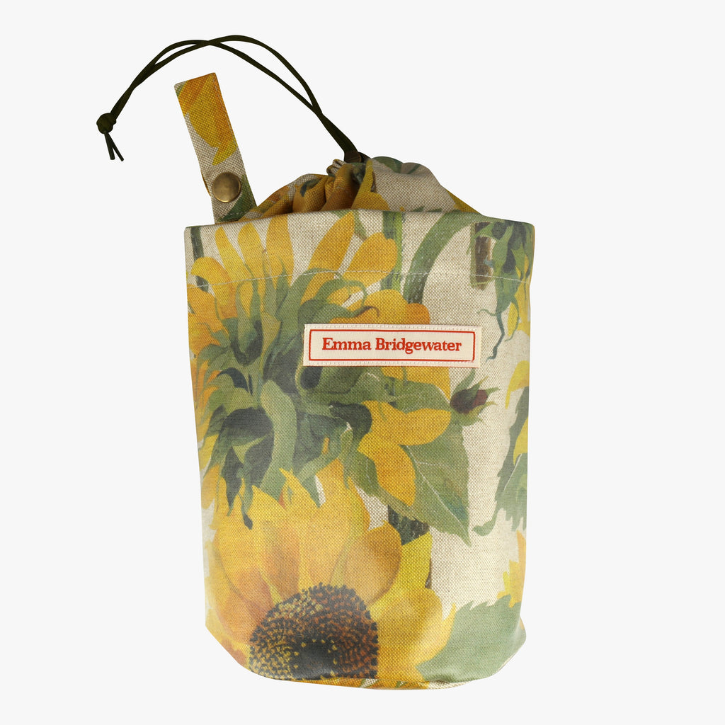Sunflowers Round Peg Bag