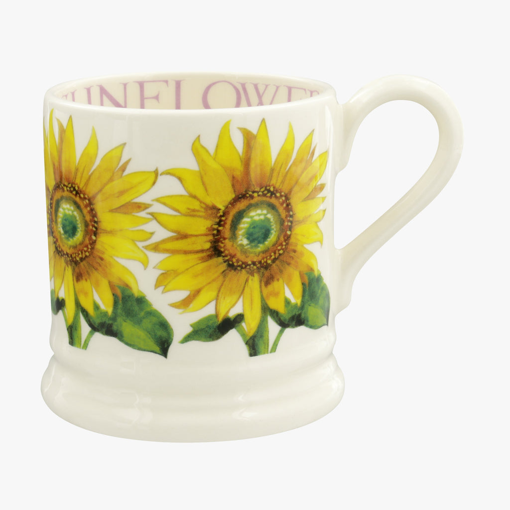 Flowers Sunflower 1/2 Pint Mug
