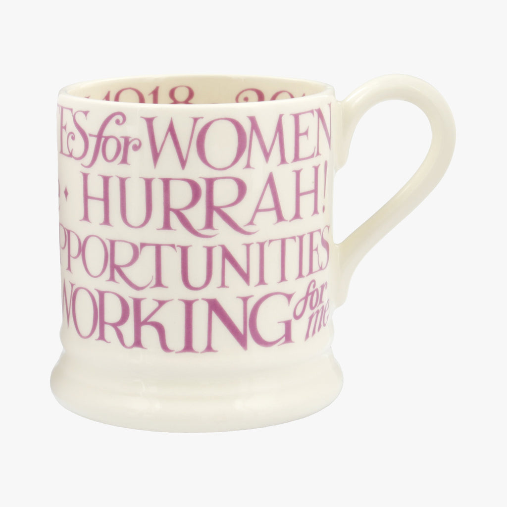 Seconds Suffragette Votes for Women 1/2 Pint Mug