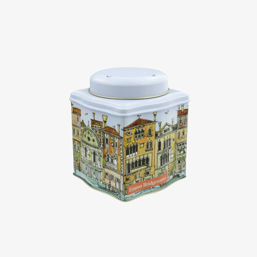 Venice Dome Lid Curved Tin Caddy