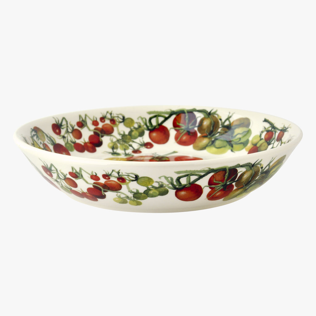 Vegetable Garden Tomatoes Medium Pasta Bowl