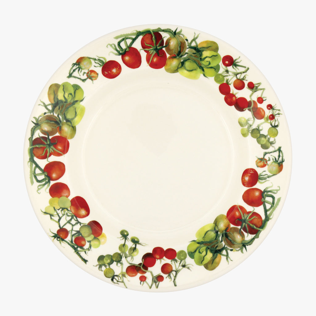 "Seconds Veg Garden Tomato 10 1/2"" Plate"