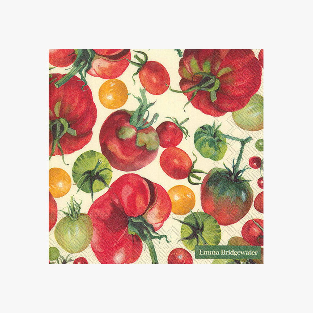 Vegetable Garden Tomatoes Lunch Napkins
