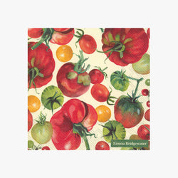 Vegetable Garden Tomato Lunch Napkins