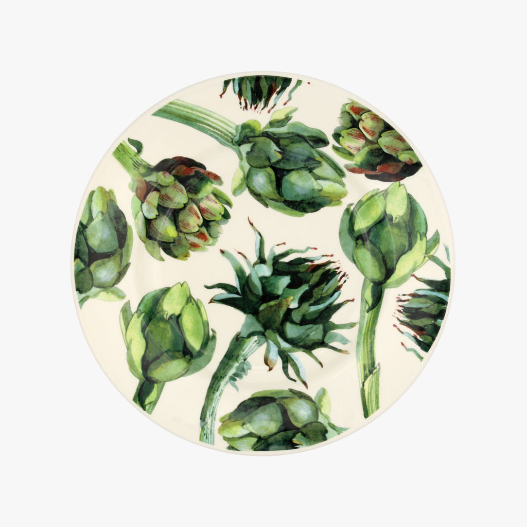 Vegetable Garden Artichoke 8 1/2 Plate