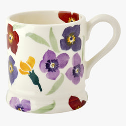 Seconds Wallflower 1/2 Pint Mug