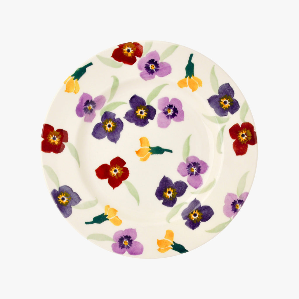 "Seconds Wallflower 8 1/2"" Plate"