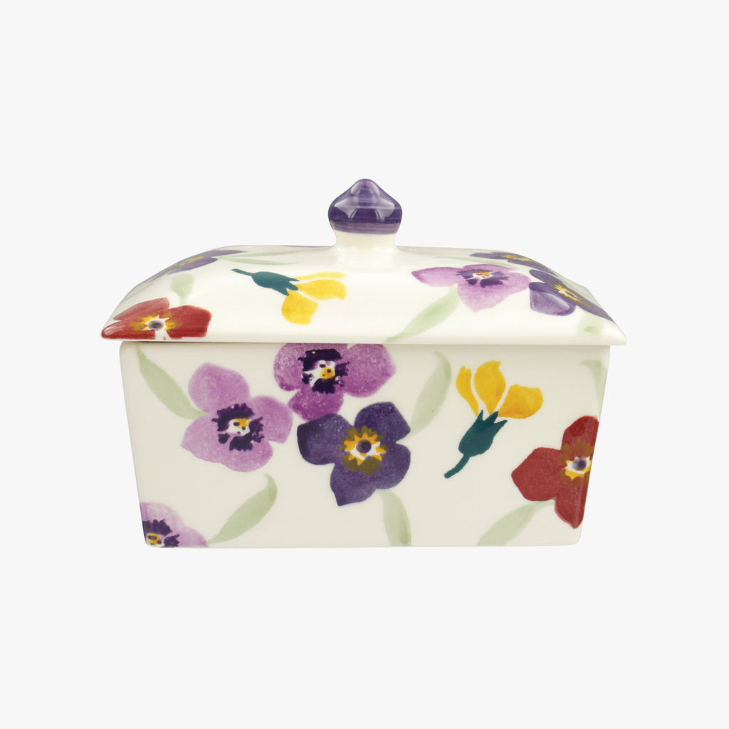 Seconds Wallflower Small Butter Dish