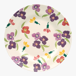 Wallflower Melamine Plate