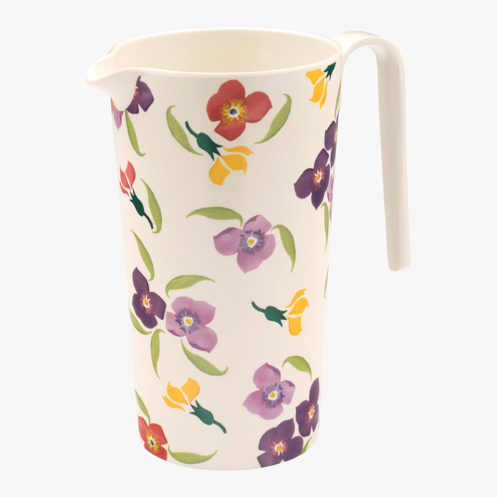 Wallflower Melamine Water Jug
