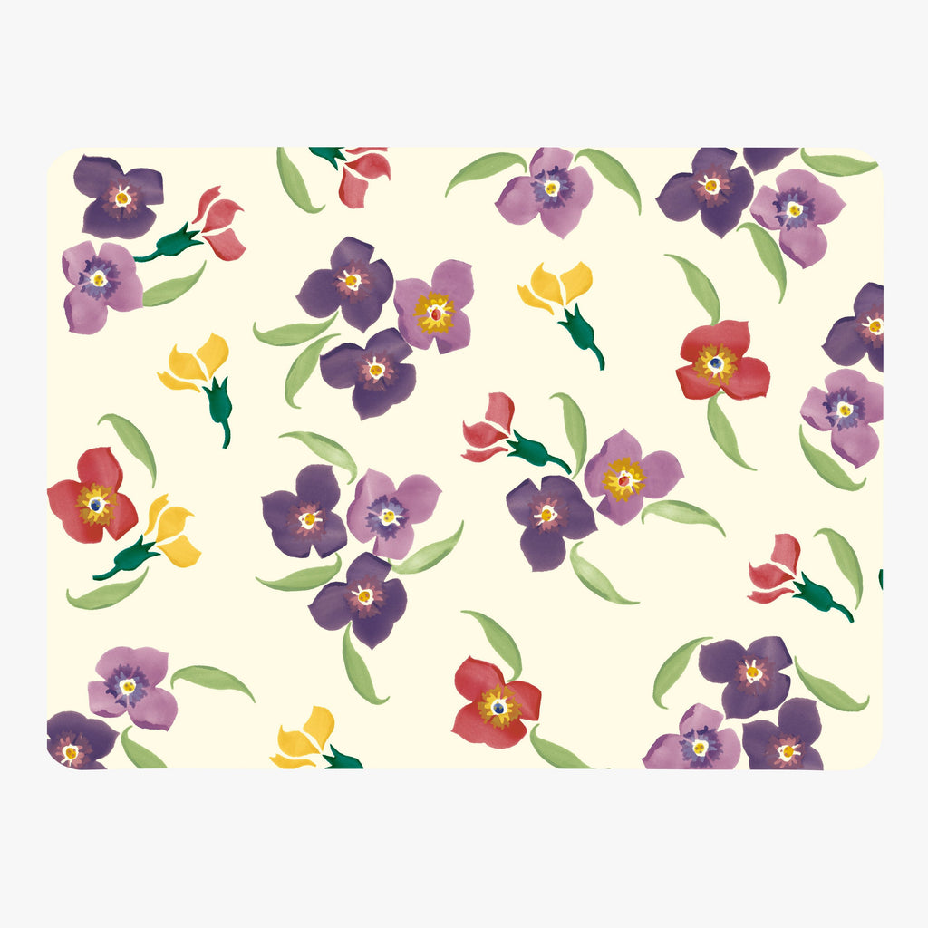 Wallflower Set of 4 Placemats