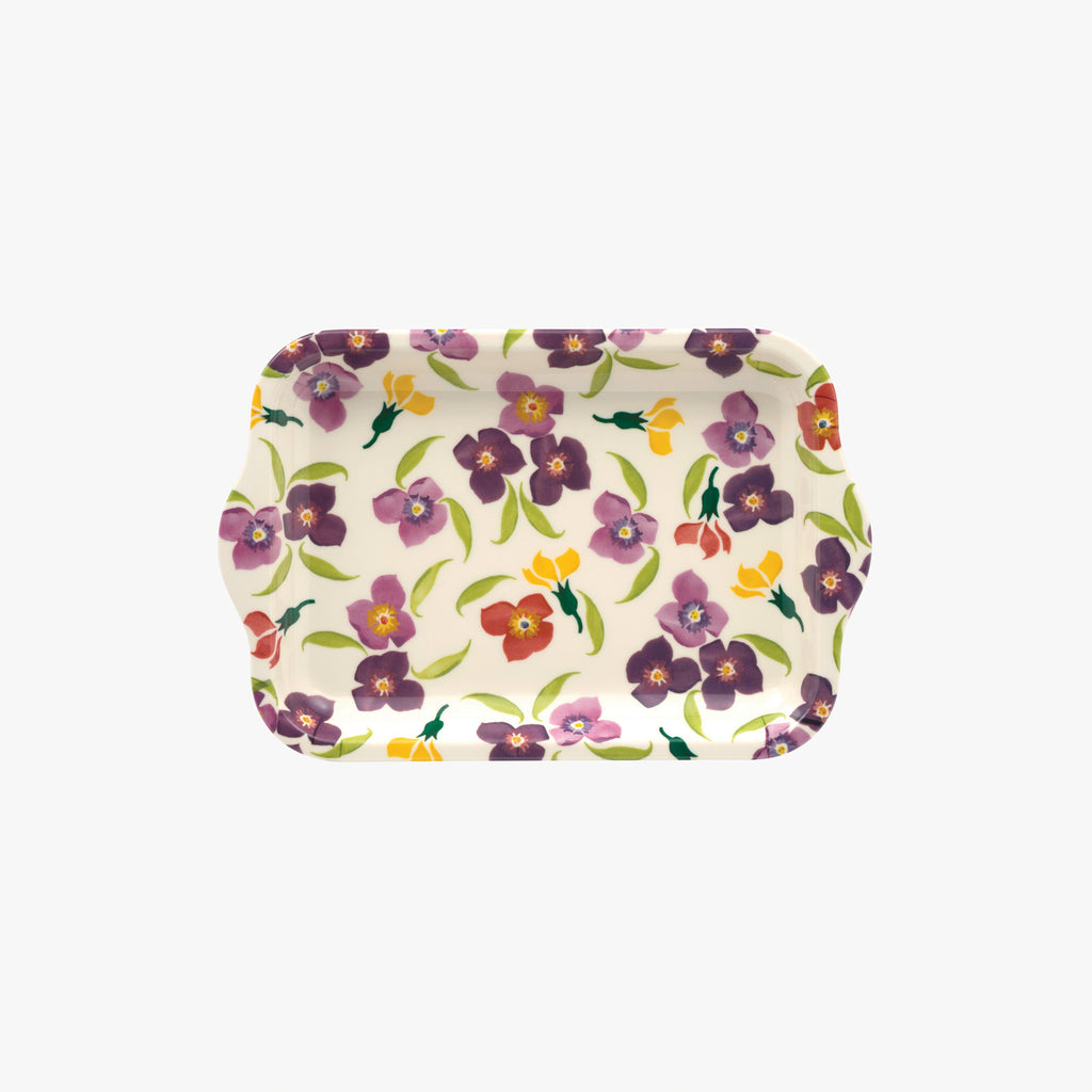 Wallflower Small Melamine Tray