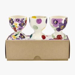 Wallflower Mix Set of 3 Egg Cups