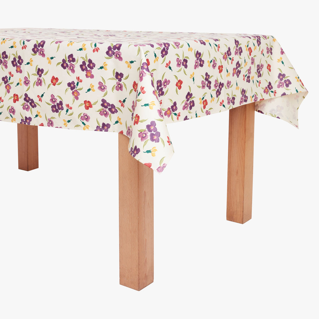 Wallflower Small PVC Tablecloth