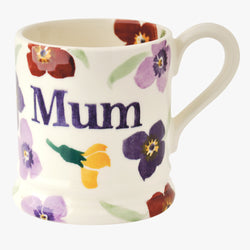 Seconds Wallflower Mum 1/2 Pint Mug