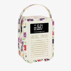 Wallflower Mini Bluetooth Retro Radio