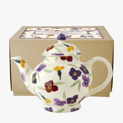 Wallflower 4 Mug Teapot Boxed