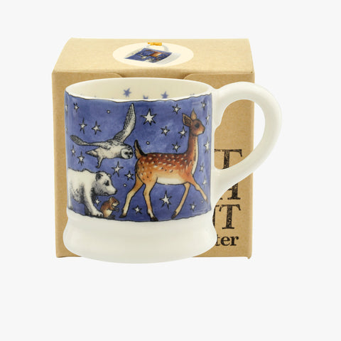 Winter Animals Tiny Mug Decoration Boxed