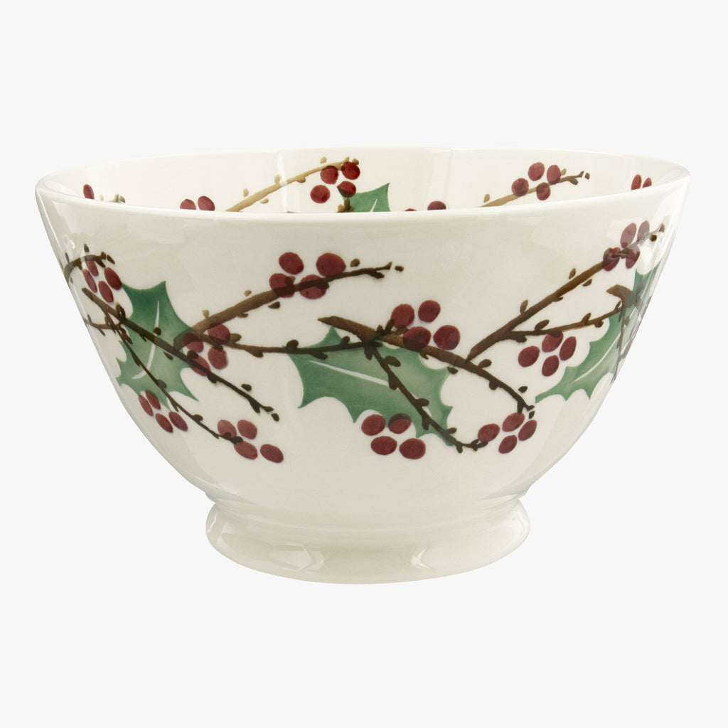 Seconds Winterberry Large Old Bowl
