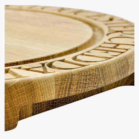 Wooden Circular Cheese Board