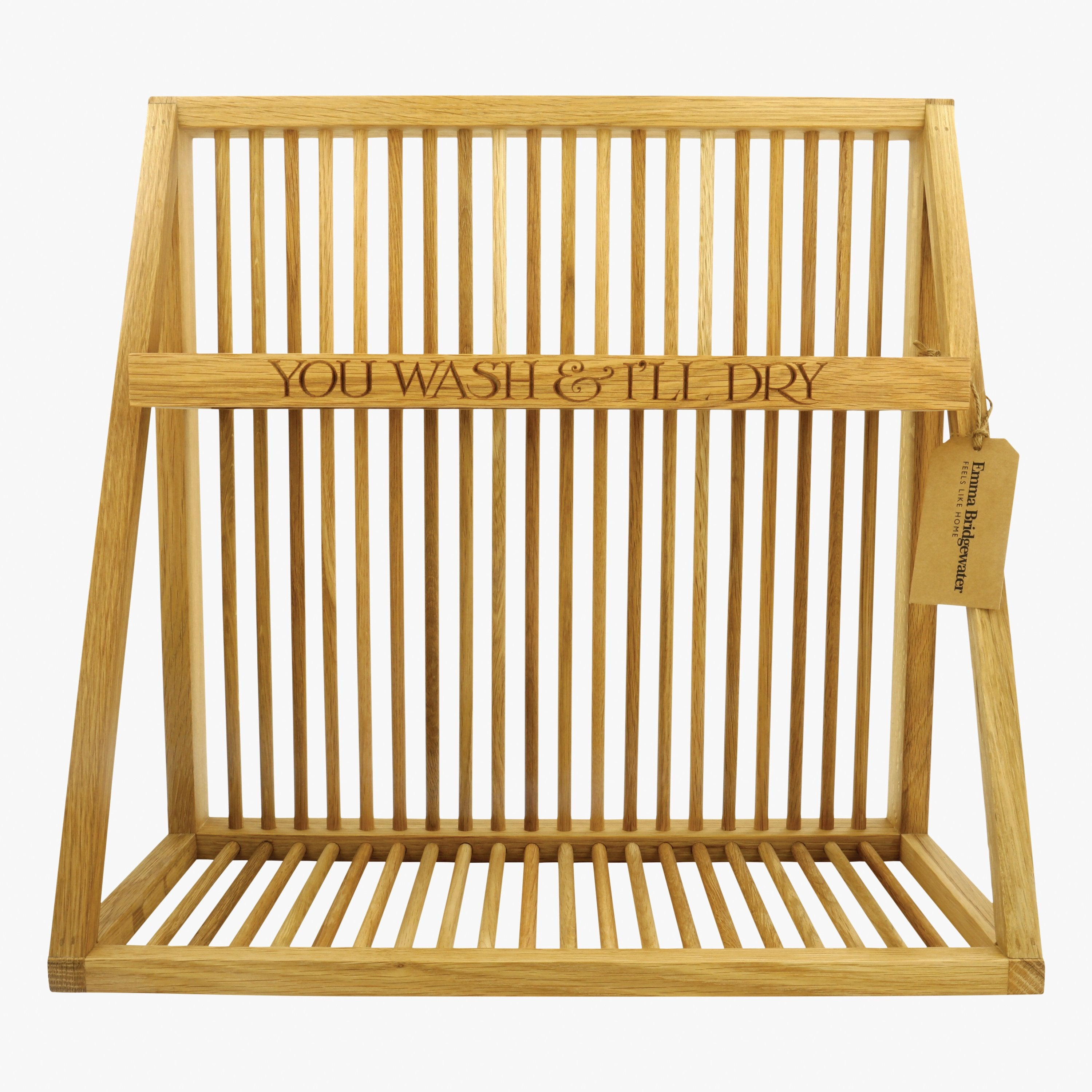 Image of Wooden Plate Rack