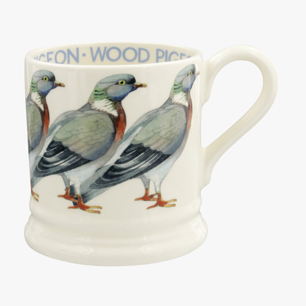 Seconds Birds Wood Pigeon 1/2 Pint Mug