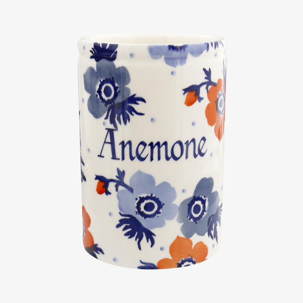 Personalised Anemone Medium Vase