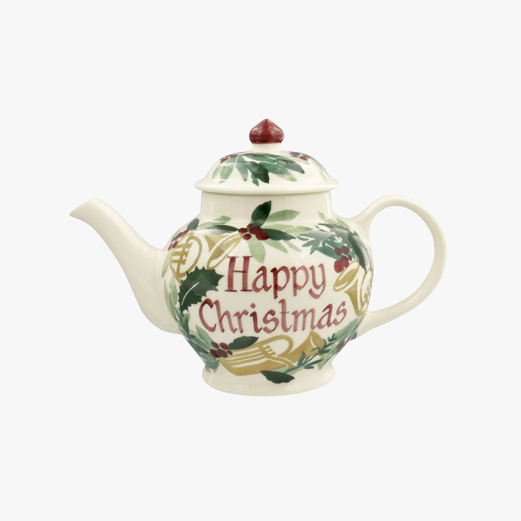 Personalised Bring in the Green 2 Mug Teapot