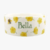 Personalised Buttercup Large Pet Bowl