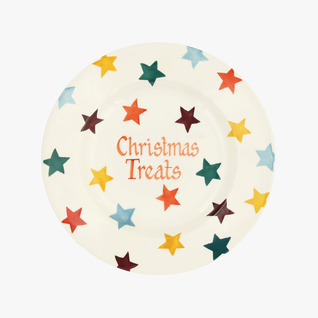 "Personalised Bright Star 8 1/2"" Plate"