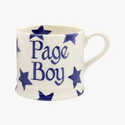 Personalised Blue Star Small Mug