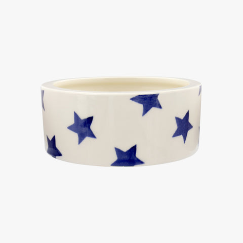 Personalised Blue Star Small Pet Bowl