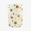 Personalised Bumblebee & Small Polka Dot Medium Vase