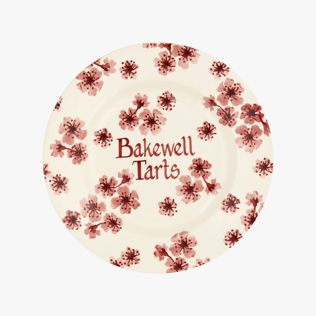 "Personalised Cherry Blossom 8 1/2"" Plate"