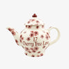 Personalised Cherry Blossom 4 Mug Teapot