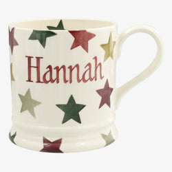 Personalised Christmas Multi Star 1 Pint Mug