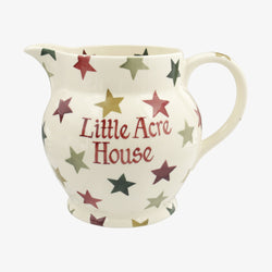 Personalised Christmas Multi Star 3 pt Jug