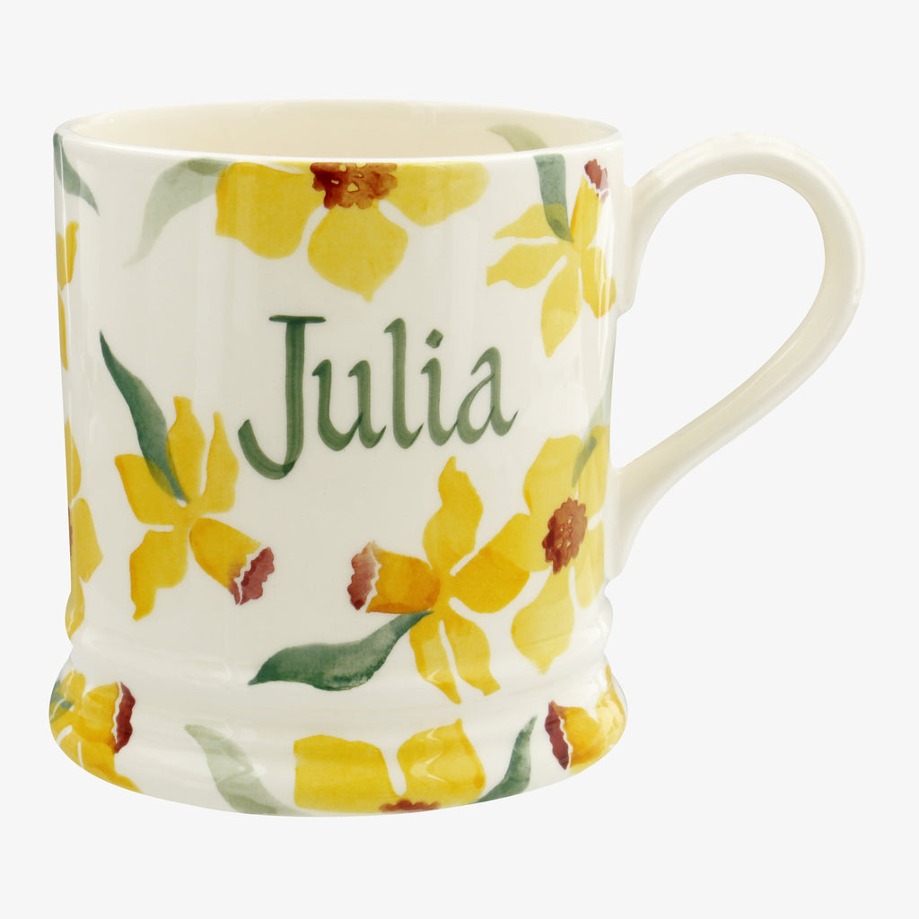 Personalised Daffodils 1 Pint Mug