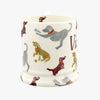 Personalised Dogs 1/2 Pint Mug
